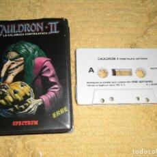 Videojuegos y Consolas: SINCLAIR ZX SPECTRUM 48K - CAULDRON II (PALACE SOFTWARE) EDICIÓN ESTUCHE DE ERBE. Lote 95965367