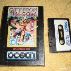 Videojuegos y Consolas: SINCLAIR ZX SPECTRUM 48K - GIFT FROM THE GODS (OCEAN) CAJA ORIGINAL, SIN INSTRUCCIONES. Lote 95965903