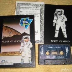 Videojuegos y Consolas: SINCLAIR ZX SPECTRUM 48K - NODES OF YESOD (ODIN SOFTWARE) CAJA ORIGINAL. Lote 95965991