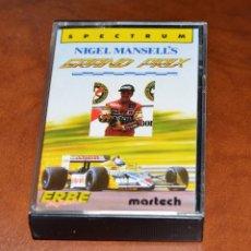 Videojuegos y Consolas: NIGEL MANSELL´S ERBE MARTECH. Lote 96420919