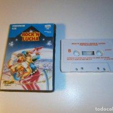 Videojogos e Consolas: JUEGO DE SPECTRUM - ROCK ' N ' LUCHA - ERBE - ESTUCHE MEDIANO. Lote 97778807