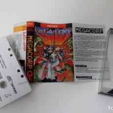Videojuegos y Consolas: MEGA CORP. AVENTURAS DINAMIC. PORTADA ALFONSO AZPIRI. JUEGO DEL SPECTRUM. 1987.. Lote 98514067