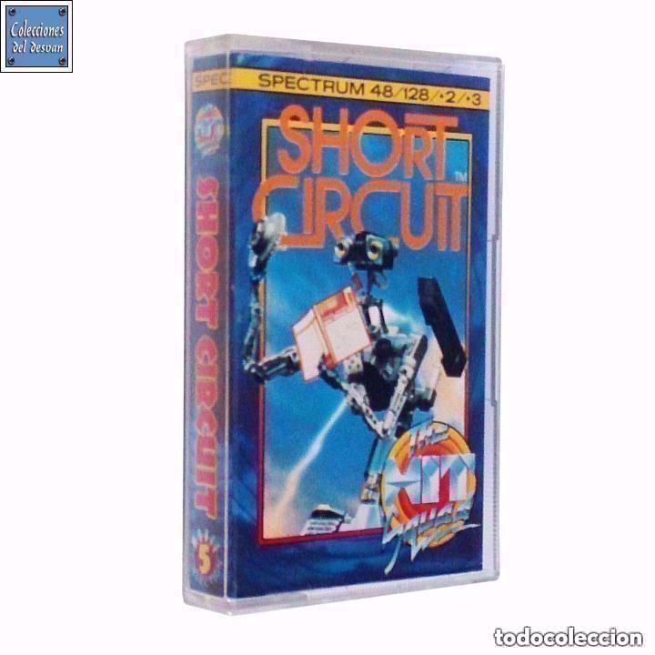 SHORT CIRCUIT / CORTOCIRCUITO / JUEGO SPECTRUM CINTA / THE HIT SQUAD 1987 (Juguetes - Videojuegos y Consolas - Spectrum)