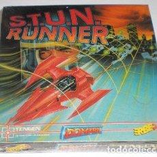 Videojuegos y Consolas: S.T.U.N. RUNNER [DOMARK] 1990 TENGEN / ATARI GAMES / ERBE SOFTWARE [ZX SPECTRUM] PRECINTADO. Lote 99679547