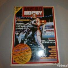 Videojuegos y Consolas: REVISTA MICRO HOBBY Nº184 COMPLETA MUY BUEN ESTADO. Lote 100493571