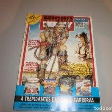 Videojuegos y Consolas: REVISTA MICRO HOBBY Nº195 COMPLETA MUY BUEN ESTADO. Lote 100494227