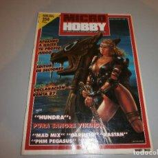 Videojuegos y Consolas: REVISTA MICRO HOBBY Nº171 COMPLETA MUY BUEN ESTADO. Lote 100495263