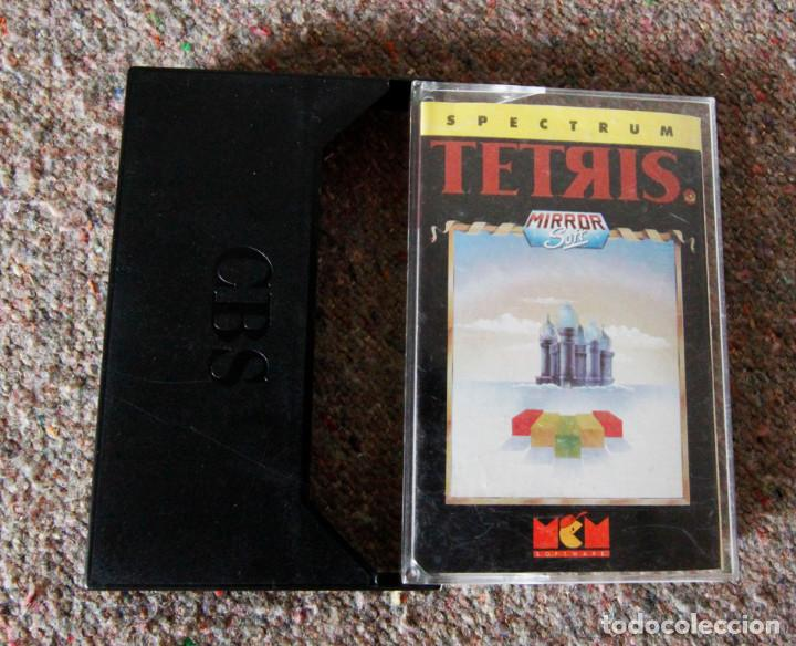 JUEGO 48 K SINCLAIR ZX SPECTRUM - TETRIS - MCM SOFTWARE - AÑO 1989 (Juguetes - Videojuegos y Consolas - Spectrum)
