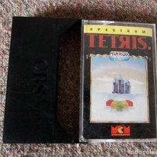 Videojuegos y Consolas: JUEGO 48 K SINCLAIR ZX SPECTRUM - TETRIS - MCM SOFTWARE - AÑO 1989. Lote 100942563