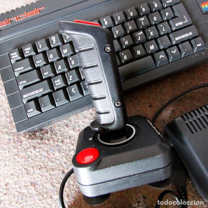Videojuegos y Consolas: Ordenador ZX Spectrum + 2 128k - Con fuente de alimentación original y joystick - Años 80 - Foto 3 - 100944295