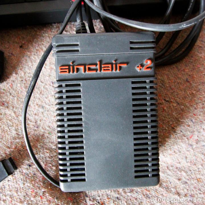 Videojuegos y Consolas: Ordenador ZX Spectrum + 2 128k - Con fuente de alimentación original y joystick - Años 80 - Foto 4 - 100944295