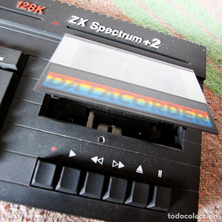 Videojuegos y Consolas: Ordenador ZX Spectrum + 2 128k - Con fuente de alimentación original y joystick - Años 80 - Foto 7 - 100944295