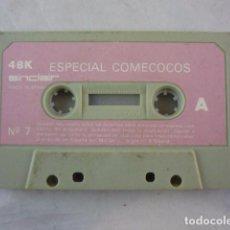 Videojuegos y Consolas: ESPECIAL COMECOCOS - JUEGO SPECTRUM 48K - 1985. Lote 101070019