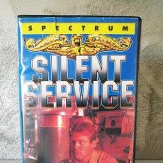 Videojuegos y Consolas: SILENT SERVICE ESTUCHE GRANDE SPECTRUM . Lote 101124763