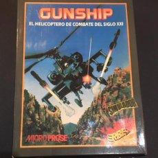 Videojuegos y Consolas: JUEGO DE ORDENADOR SPECTRUM GUNSHIP SIMULADOR ERBE . Lote 101182703