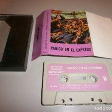 Videojuegos y Consolas: INTERESANTE JUEGO SINCLAIR 48 K SPECTRUM PANICO EN EL EXPRESS RARO. Lote 288971023