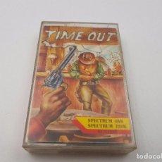 Jeux Vidéo et Consoles: JUEGO CASSETTE TIME OUT ESPAÑA.SINCLAIR ZX SPECTRUM.MUY RARO.COMBINO ENVIOS. Lote 101911563