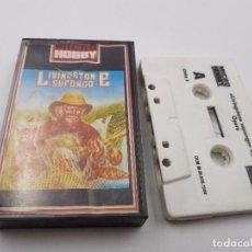 Videojuegos y Consolas: JUEGO CASSETTE LIVINSTONE SUPONGO ESPAÑA.SINCLAIR ZX SPECTRUM.COMBINO ENVIOS. Lote 101918811