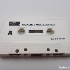 Videojuegos y Consolas: JUEGO CASSETTE GALACTIC GAMES.SINCLAIR ZX SPECTRUM.COMBINO ENVIO. Lote 101921603