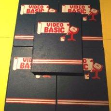 Videojuegos y Consolas: CURSO VIDEO BASIC (SPECTRUM) COMPLETO. AÑOS 80. TAGS: INFORMÁTICA, PROGRAMACIÓN, AMSTRAD, MSX, PC.... Lote 101975847
