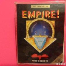 Videojuegos y Consolas: EMPIRE! EMPIRE COMPLETO EDICION ESPAÑOLA SPECTRUM. Lote 102436443