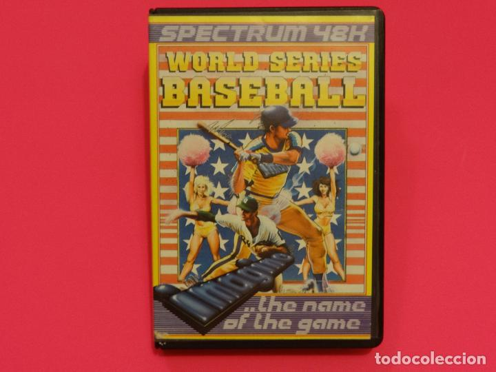 WORLD SERIES BASEBALL IMAGINE SPECTRUM (Juguetes - Videojuegos y Consolas - Spectrum)