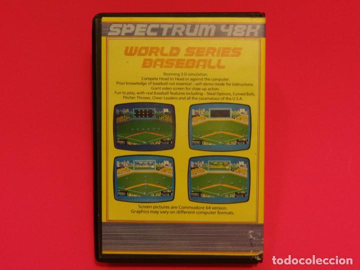 Videojuegos y Consolas: WORLD SERIES BASEBALL IMAGINE SPECTRUM - Foto 2 - 102438559