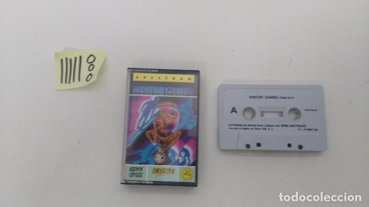 JUEGO ORIGINAL DE SPECTRUM WINTER GAMES (Juguetes - Videojuegos y Consolas - Spectrum)
