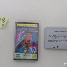 Videojuegos y Consolas: JUEGO ORIGINAL DE SPECTRUM WINTER GAMES . Lote 102677591