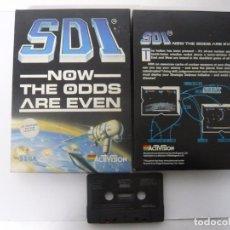 Videojuegos y Consolas: SDI EN CAJA GRANDE - SINCLAIR ZX SPECTRUM - JUEGO EN CASSETTE - RETRO - VINTAGE. Lote 103242215