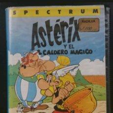 Videojuegos y Consolas: JUEGO SPECTRUM ASTÉRIX Y EL CALDERO ERBE. Lote 103843600