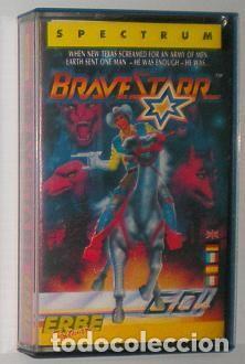 BRAVESTARR [SPECTRUM / GO!] [1987] ERBE SOFTWARE [ZX SPECTRUM] (Juguetes - Videojuegos y Consolas - Spectrum)