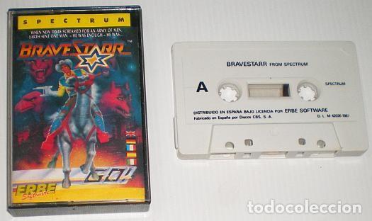Videojuegos y Consolas: BraveStarr [Spectrum / Go!] [1987] Erbe Software [ZX Spectrum] - Foto 3 - 104214387