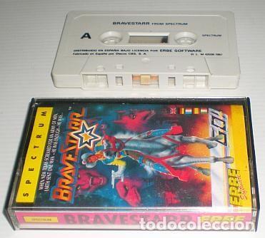 Videojuegos y Consolas: BraveStarr [Spectrum / Go!] [1987] Erbe Software [ZX Spectrum] - Foto 4 - 104214387