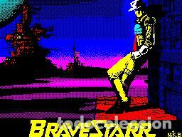 Videojuegos y Consolas: BraveStarr [Spectrum / Go!] [1987] Erbe Software [ZX Spectrum] - Foto 5 - 104214387