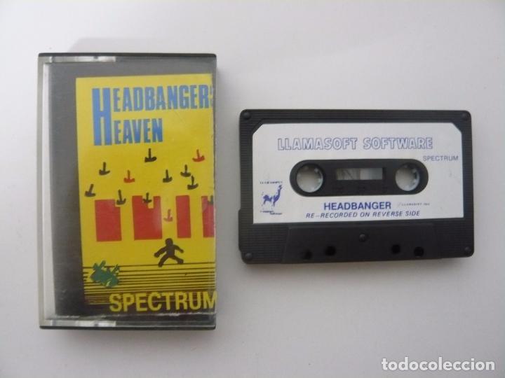 HEADBANGER - SINCLAIR ZX SPECTRUM - CASSETTE - RETRO VINTAGE (Juguetes - Videojuegos y Consolas - Spectrum)