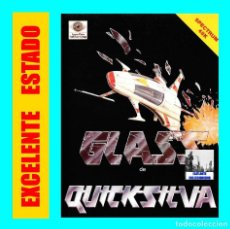Videojuegos y Consolas: GLASS DE QUICKSILVA - SPECTRUM 48 K 48K - MIND GAMES ESPAÑA - EXCELENTE - MUY RARO. Lote 105039027