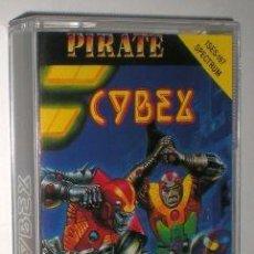 Videojuegos y Consolas: CYBEX [CHRIS D. SMITH] 1987 PIRATE SOFTWARE / SYSTEM 4 DE ESPAÑA [ZX SPECTRUM]. Lote 105819395