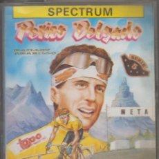 Videojuegos y Consolas: PERICO DELGADO VIDEOJUEGO CASSETTE SPECTRUM . Lote 106584255