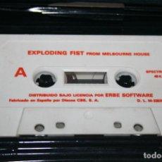 Videojuegos y Consolas: SPECTRUM *** EXPLODING FIST (1985) *** ANTIGUO JUEGO ORDENADOR EN CASETE ***. Lote 107330315