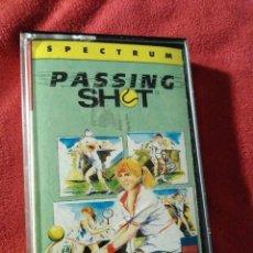 Videojuegos y Consolas: JUEGO SPECTRUM. PASSING SHOT. Lote 109171291