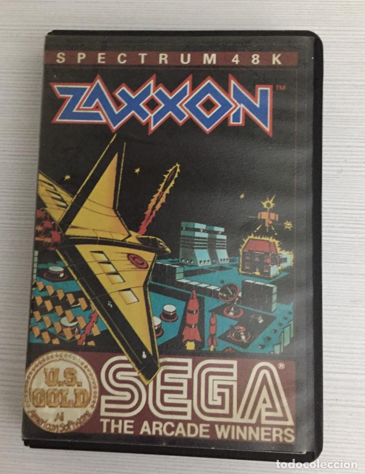 ZAXXON, SPECTRUM , SEGA (Juguetes - Videojuegos y Consolas - Spectrum)