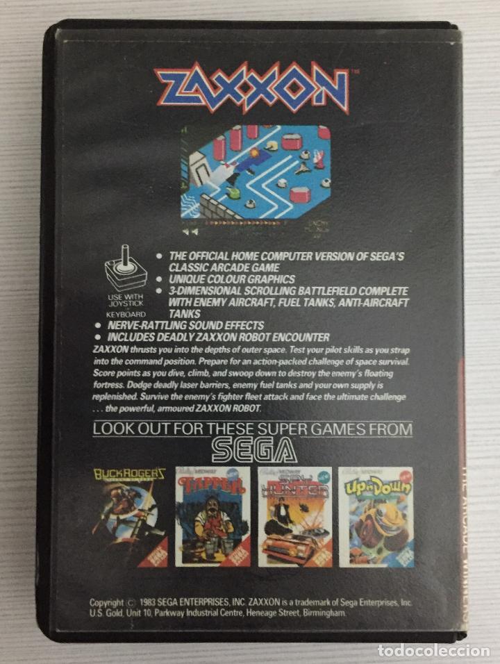 Videojuegos y Consolas: ZAXXON, Spectrum , Sega - Foto 2 - 110486795
