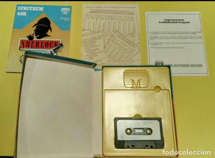 Videojuegos y Consolas: Videojuego Sherlock Holmes (Spectrum). - Foto 3 - 110759415