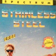 Videojuegos y Consolas: STAINLESS STEEL (SPECTRUM). Lote 110909908