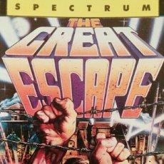 Videojuegos y Consolas: THE GREAT ESCAPE (SPECTRUM). Lote 110910611