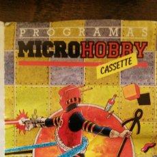 Videojuegos y Consolas: MICROHOBBY CASSETE (SPECTRUM). Lote 110916756
