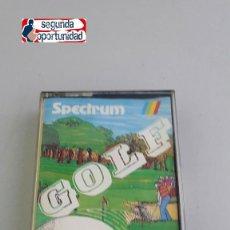 Videojuegos y Consolas: JUEGO SPECTRUM SINCLAIR. GOLF. Lote 111196583