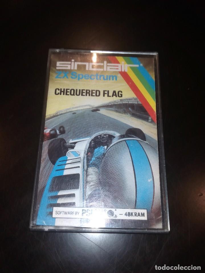 JUEGO SPECTRUM CHEQUERED FLAG (Juguetes - Videojuegos y Consolas - Spectrum)