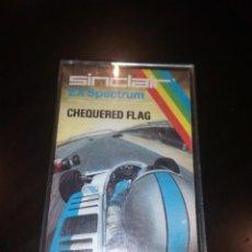 Videojuegos y Consolas: JUEGO SPECTRUM CHEQUERED FLAG. Lote 111323979
